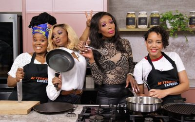 An impromptu chat in the kitchen with Sophie Lichaba (formely Ndaba)