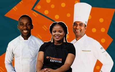 Chef Aphelele Dlungana and Chef Dion Vengatass