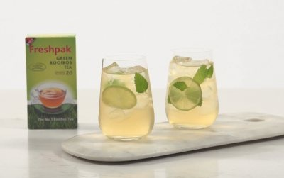Freshpak Green Rooibos Lime and Mint Cooler