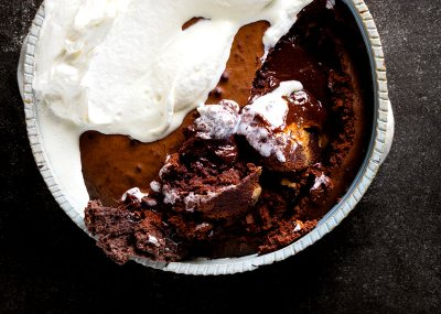 Lava, Peanut Butter and Chocolate Pudding