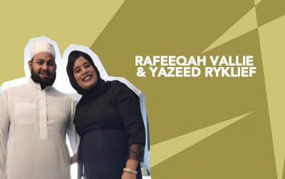 Rafeeqah Vallie and Yazeed Ryklief