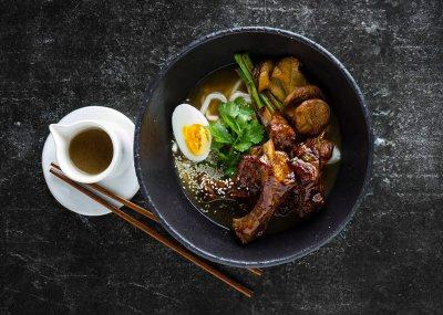 Spicy Pork Rib Ramen