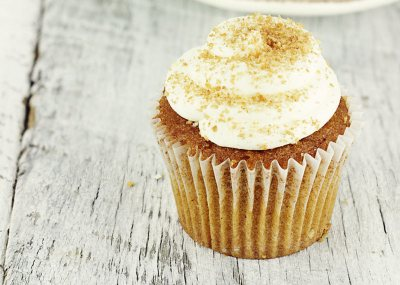 Tea cupcakes with Lemon frosting
