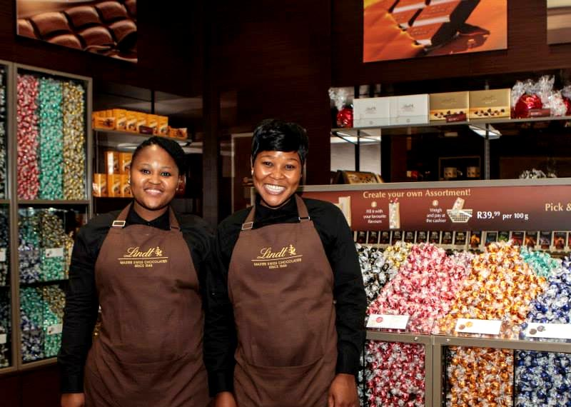 Lindt Boutique opening