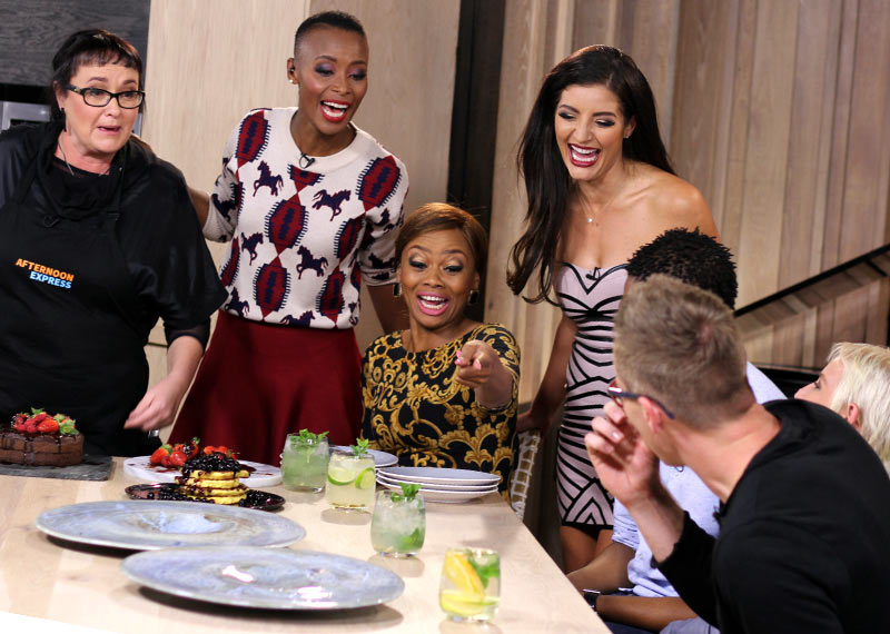 Afternoon Express episode 20 with Jeannie D Bonnie Mbuli and Bonang Matheba