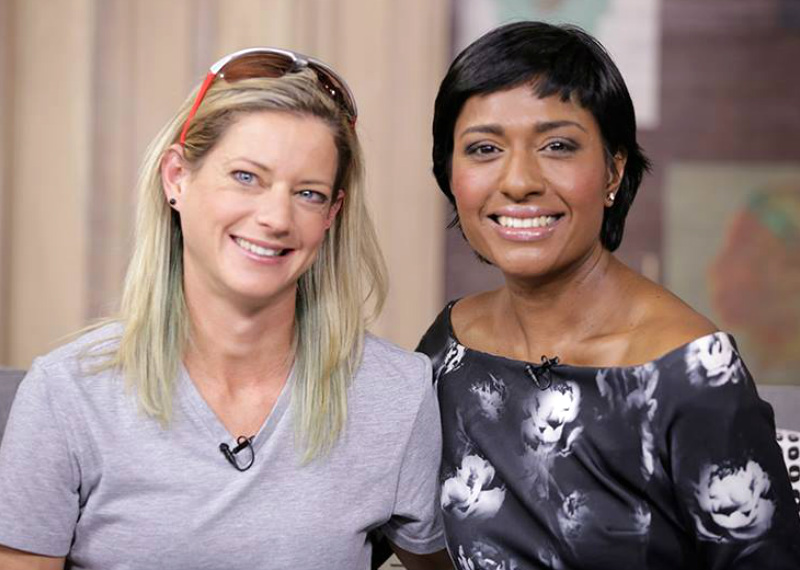 Caroline Wostmann and Kass Naidoo on Afternoon Express