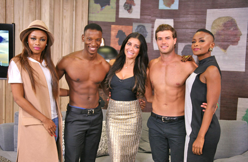 Episode 4 presenters and hotties