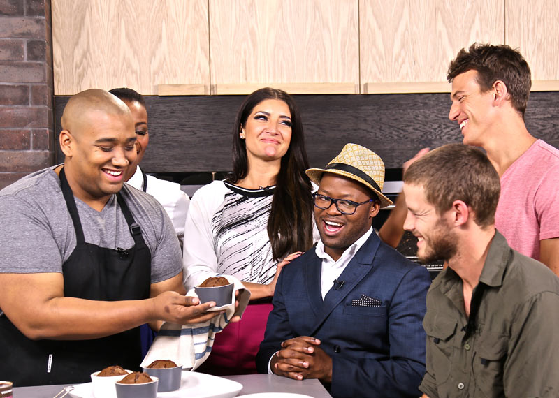 Khaya Dlanga and Trevor Gumbi join us for chocolate lava pudding on Afternoon Express