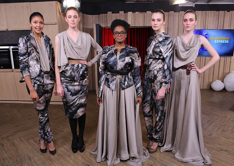 David Tlale's designs on Afternoon Express