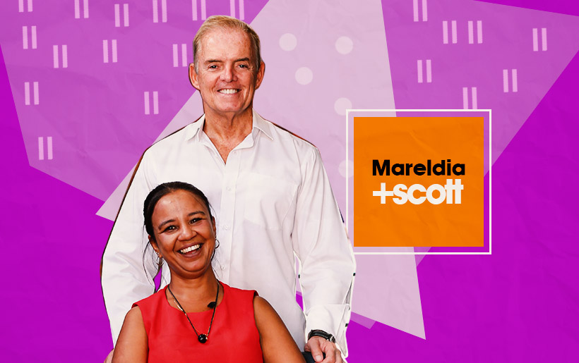 Mareldia Jones and Allan Scott