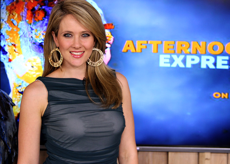 Catherine Constantinides on Afternoon Express