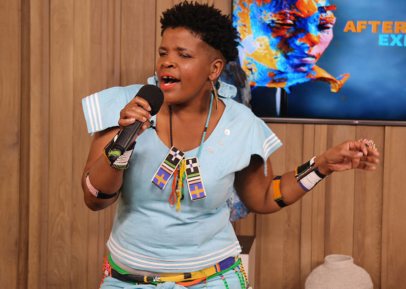 Candy Mokwena on Afternoon Express