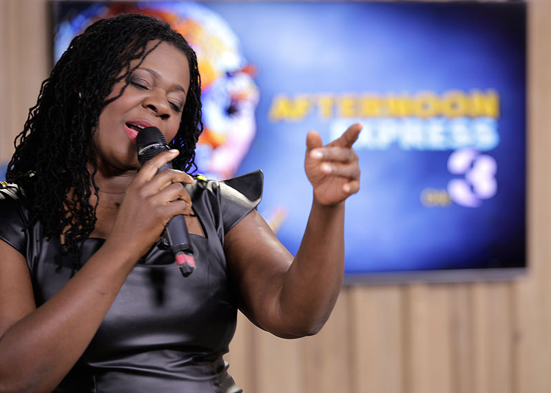 Judith Sephuma on Afternoon Express