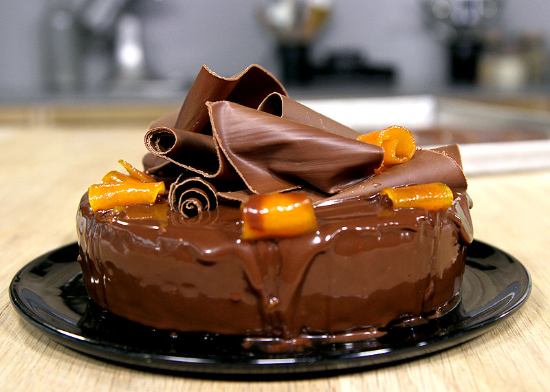 Lindt Scrumptious Orange and Chocolate Torte