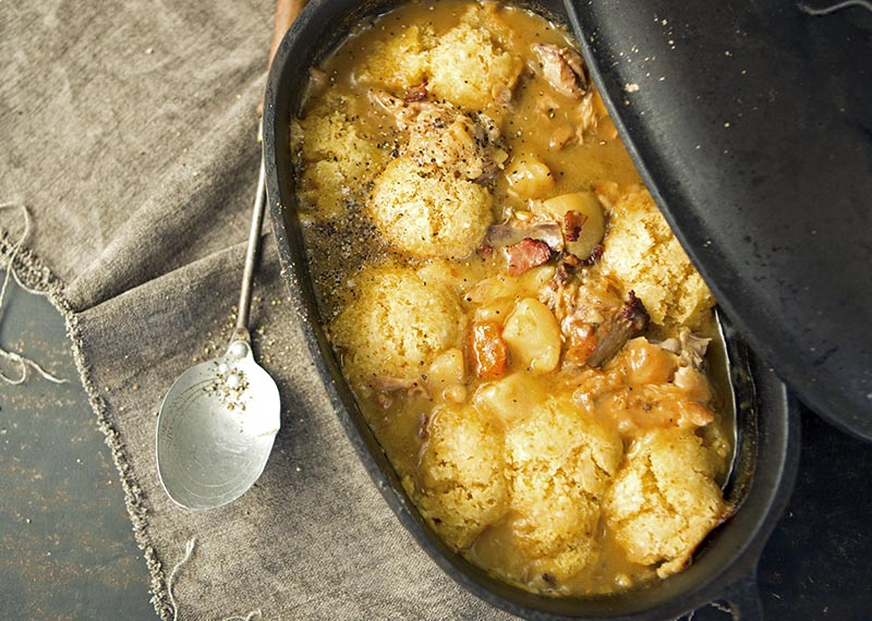 Chicken Stew and Dumplings on Afternoon Express