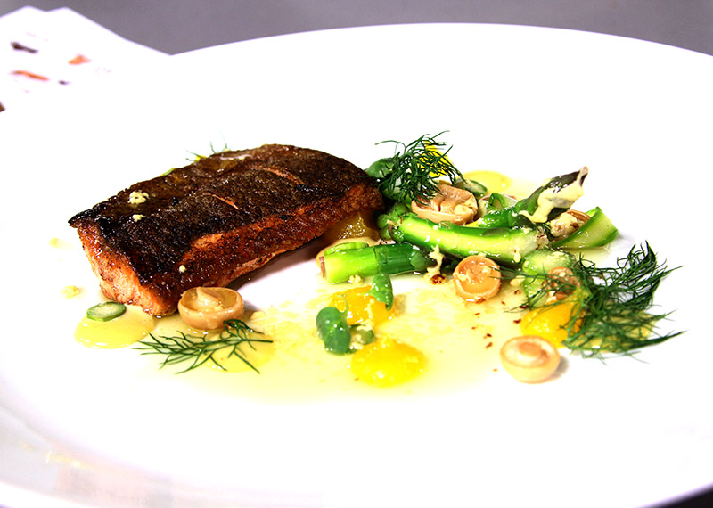 Lindt CREATIONS-inspired farmed trout