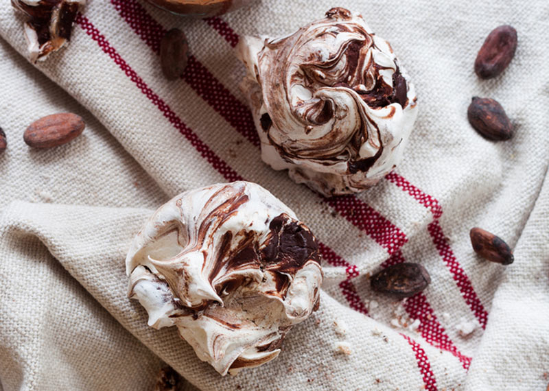 Afternoon Express makes seriously chocolatey meringues