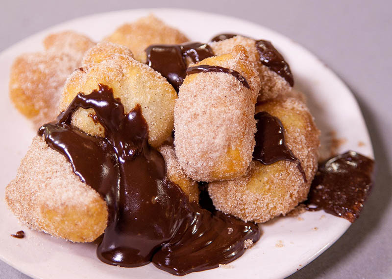 Churros with a Chocolate Dipping Sauce