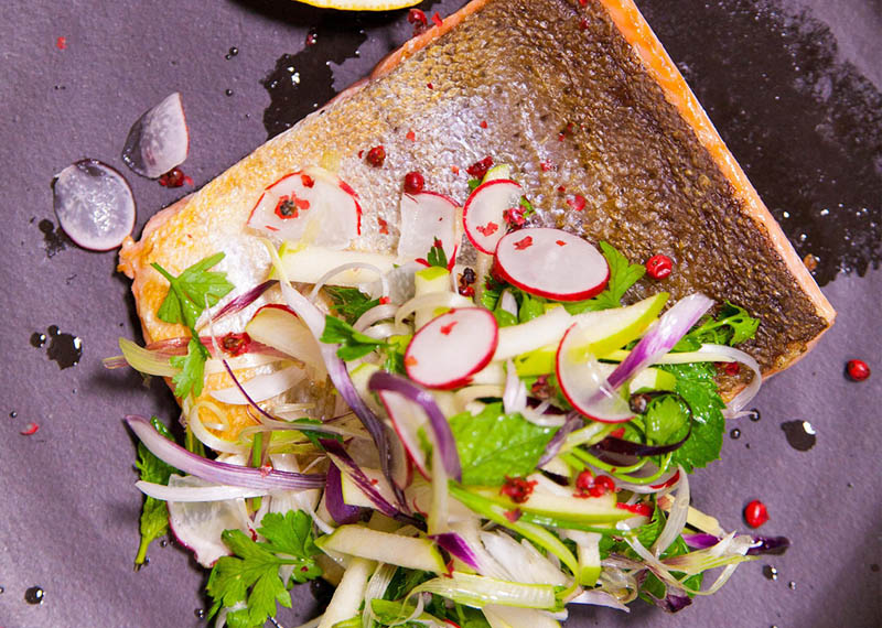 Seared Trout