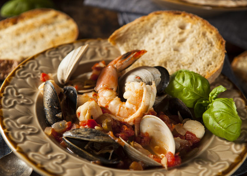 Seafood one-pot-wonder