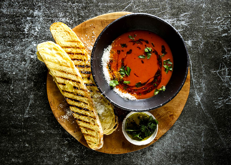 Luxurious Tomato soup