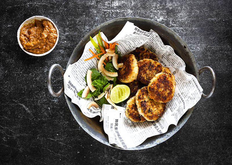 Thai-Inspired Fish Cakes