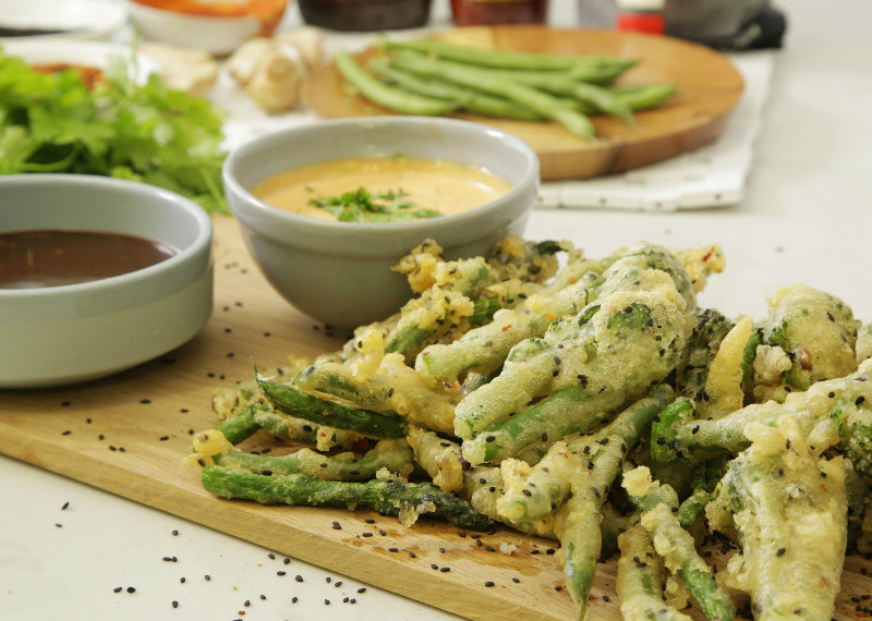 SUMMER GREEN VEGETABLE TEMPURA