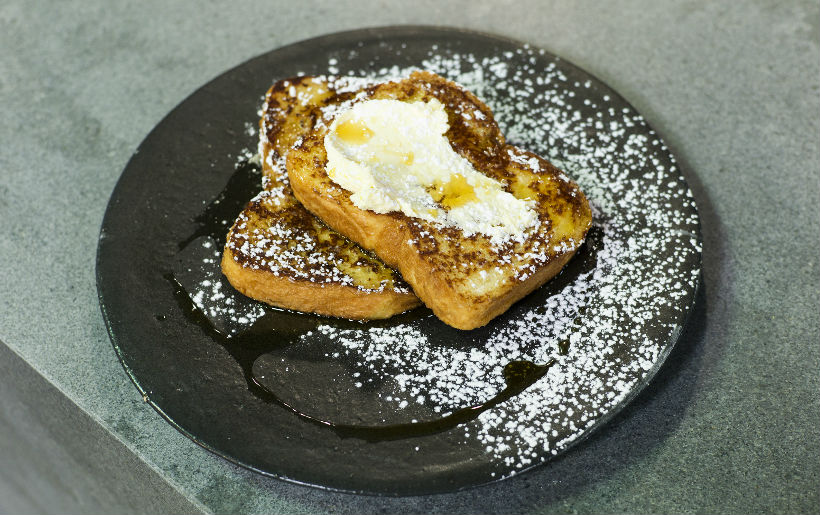Clover brioche French toast