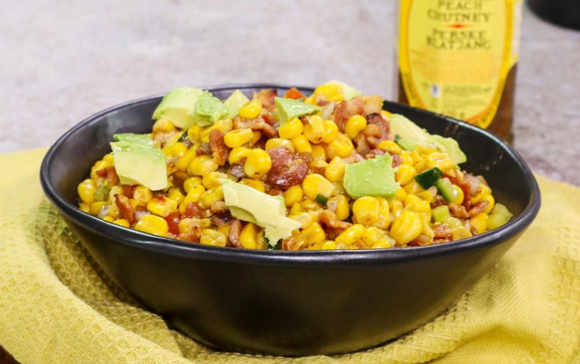 KOO Corn and Bacon salad