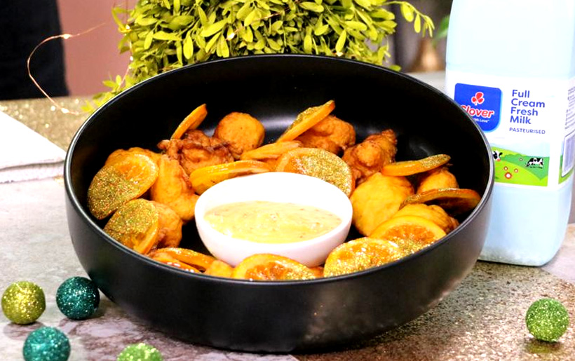 Aniseed pumpkin fritters recipe