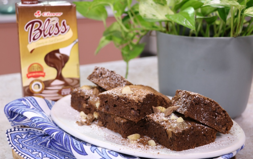 Clover bliss brownies