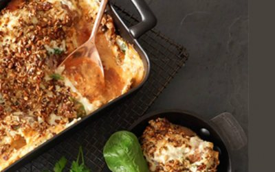 Carb Clever Meatball Bake