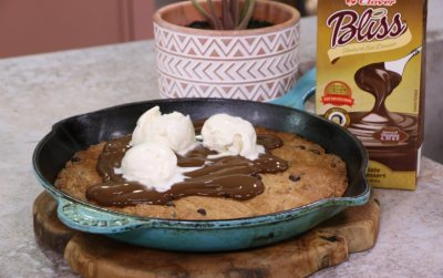 Clover Bliss Chocolate Skillet cookie