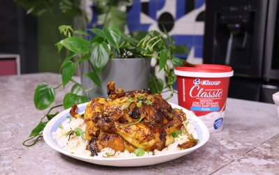 Clover Classic Whole Roast Chicken Curry