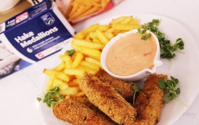 Friends In Your Freezer Fish Goujons and Chips with Siba Mtongana