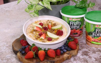 Fruits of the Forest- Baked Fruity Crumble
