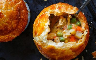 KOO Chicken and Mixed Vegetable Pot Pies
