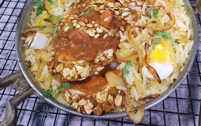 Oat crumbed Chicken Katsu curry
