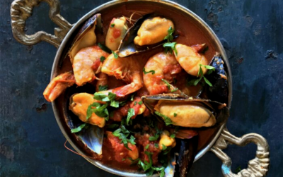 Prawn and Mussel Curry