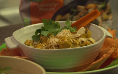 Quorn Coconut curry