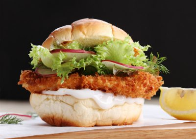 Southern Fried Angel Fish Sandwiches