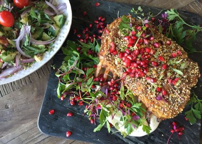 Spiced Rack of Lamb with Tabbouleh