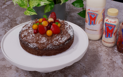 Super M Chocolate sponge pudding