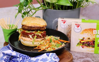 Tammy Fry's Asian Inspired Big Fry Burgers