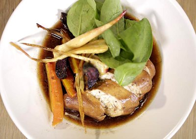 Tea Poached Chicken