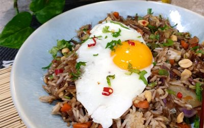 Veggie Nasi Goreng or Spicy Fried Rice