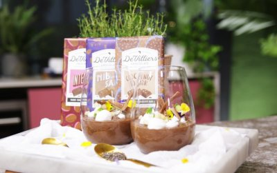 Woolworths Dark chocolate chia pudding