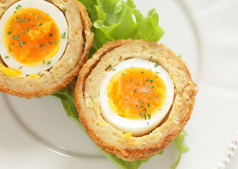 Afternoon Express Scotch Eggs