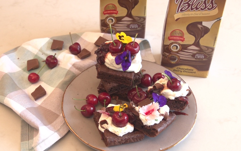 Bliss Blackforest Brownie